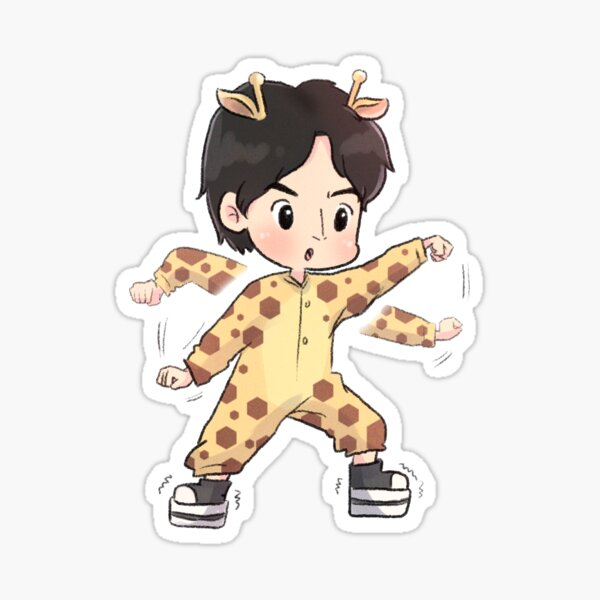 Giraffe Lee Kwang Soo Sticker
