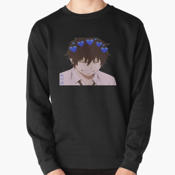 Rin Okumura Blue Exorcist  Anime Pullover Sweatshirt