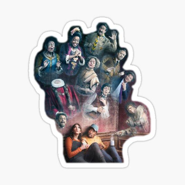 Ghosts BBC Sticker