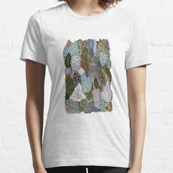 Lichen patterns 1 Essential T-Shirt