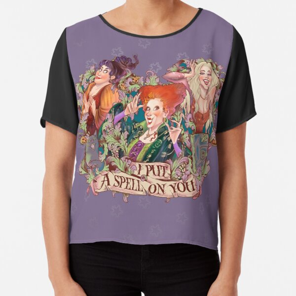 I put a spell on you Blusa