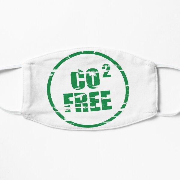CO2 frei Flache Maske