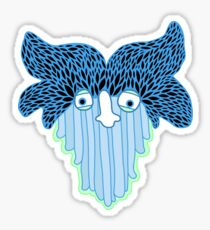 Waterfall Ghost Sticker