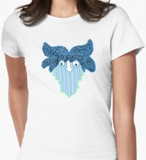 Waterfall Ghost Womens Fitted T-Shirt