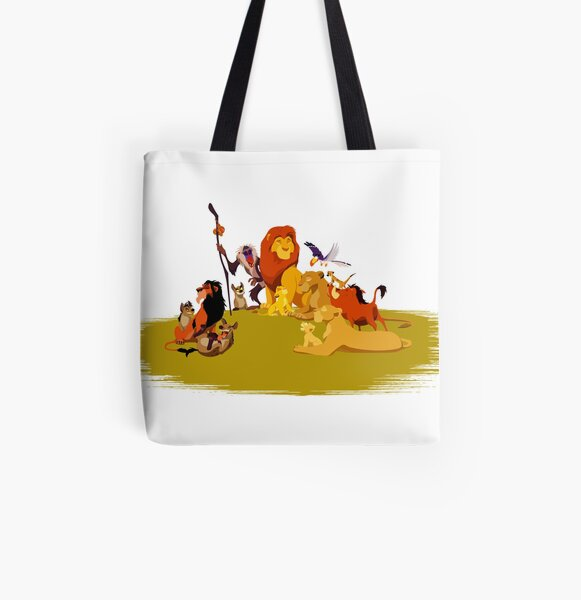 The Lion King All Over Print Tote Bag