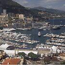 Monaco Skyline von ashleygaffney