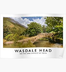 Wastdale Head (Railway Poster) Poster