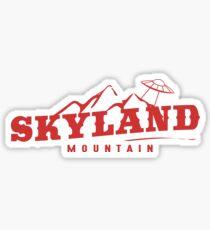 The X Files: Skyland Mountain  Sticker
