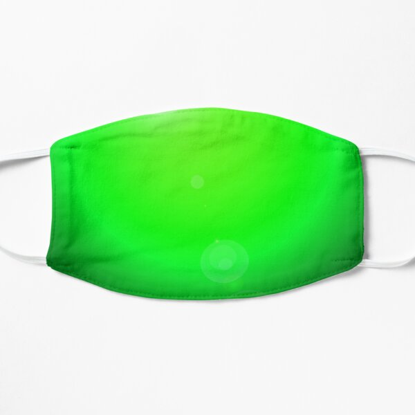 Green spotlight background Flat Mask