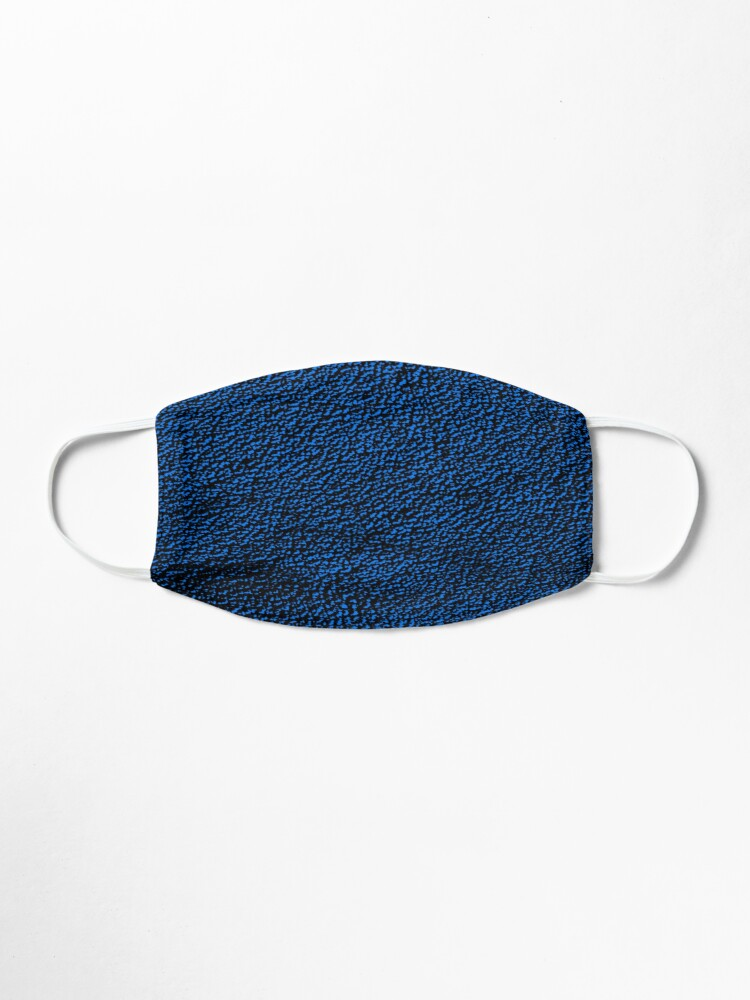 Alternate view of Blue Pattern Mask