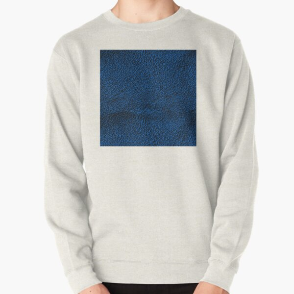 Blue Pattern Pullover Sweatshirt