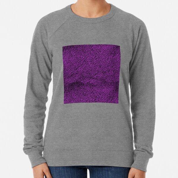 Purple Pattern Lightweight Sweatshirt