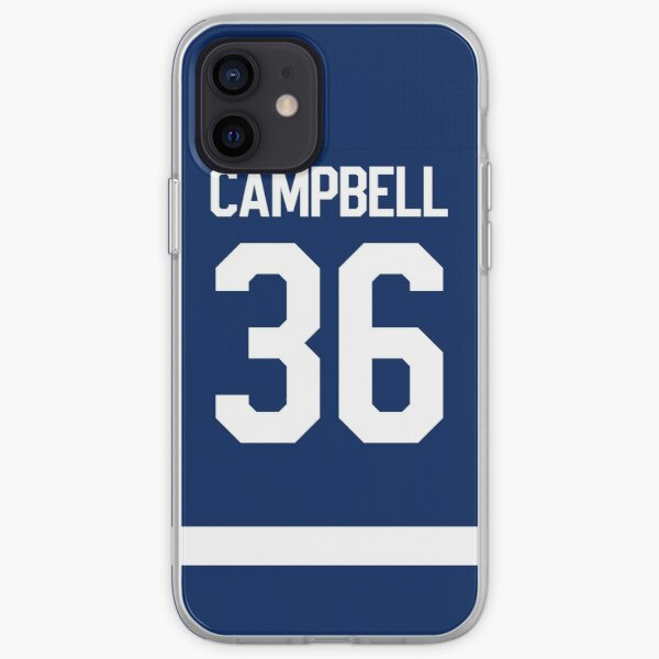 Toronto Maple Leafs Jack Campbell Home Jersey Back Phone Case iPhone Soft Case