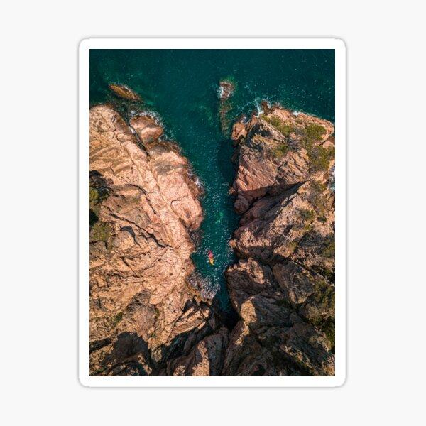 Kayaking on the Costa Brava Sticker
