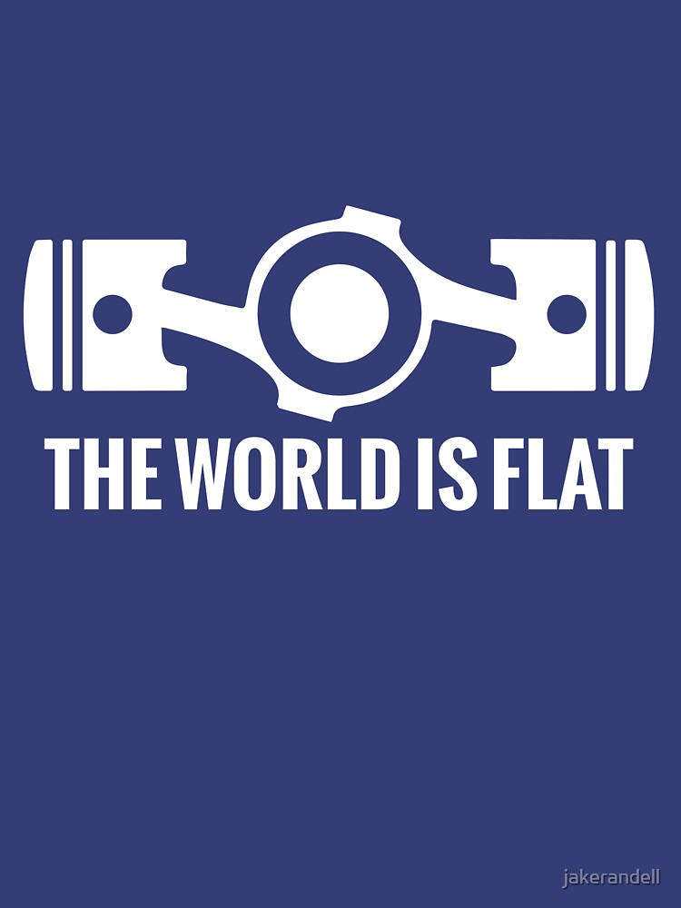 The World is Flat | Unisex T-Shirt