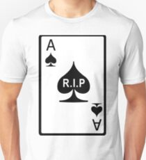 Rest in Peace Ace of Spades Slim Fit T-Shirt