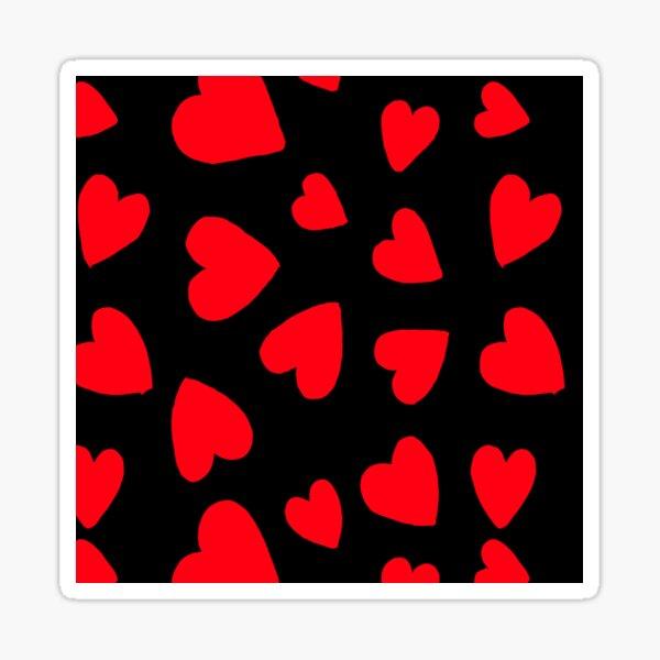 Hearts Pattern Sticker