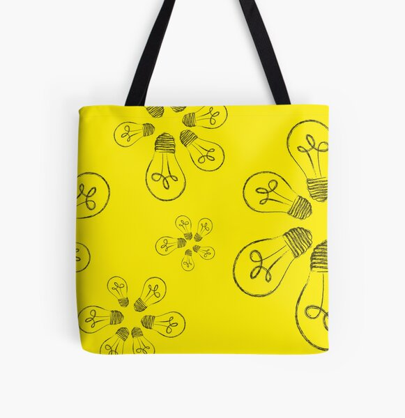 Always Yellow Merch 2 All Over Print Tote Bag