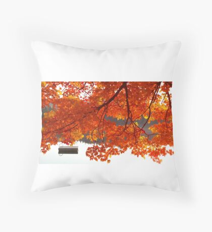 Summer's End - Fall creeps in Throw Pillow