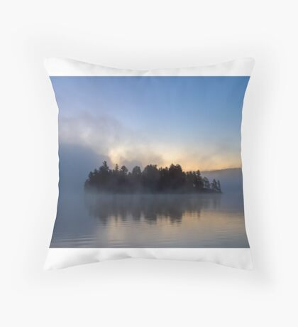 Algonquin Park - Lake of Two Rivers Throw Pillow