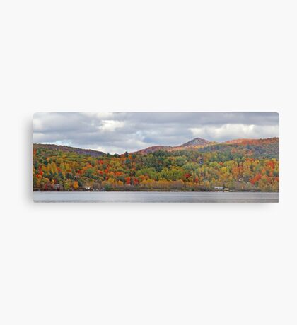 Fall in Mont Ste-Marie Metal Print