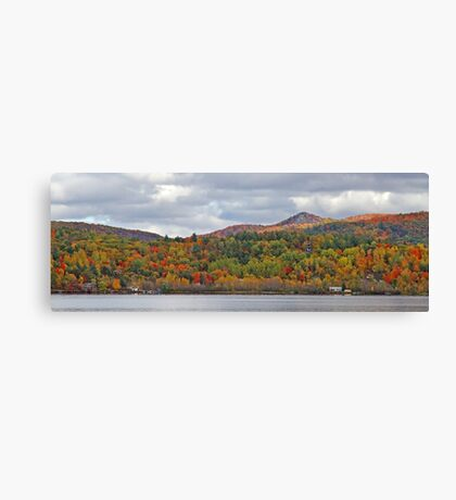 Fall in Mont Ste-Marie Canvas Print