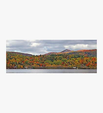 Fall in Mont Ste-Marie Photographic Print