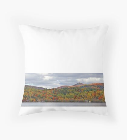 Fall in Mont Ste-Marie Throw Pillow