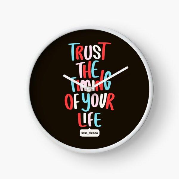 Trust the timing by Sasa Elebea Clock