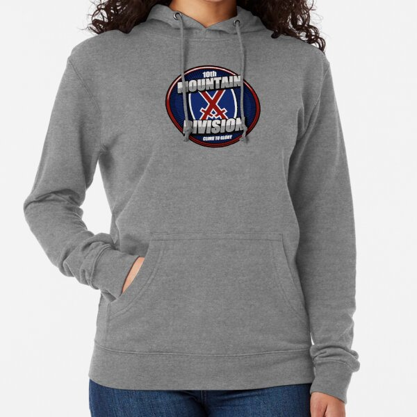 10th Mountain Division Lightweight Hoodie
