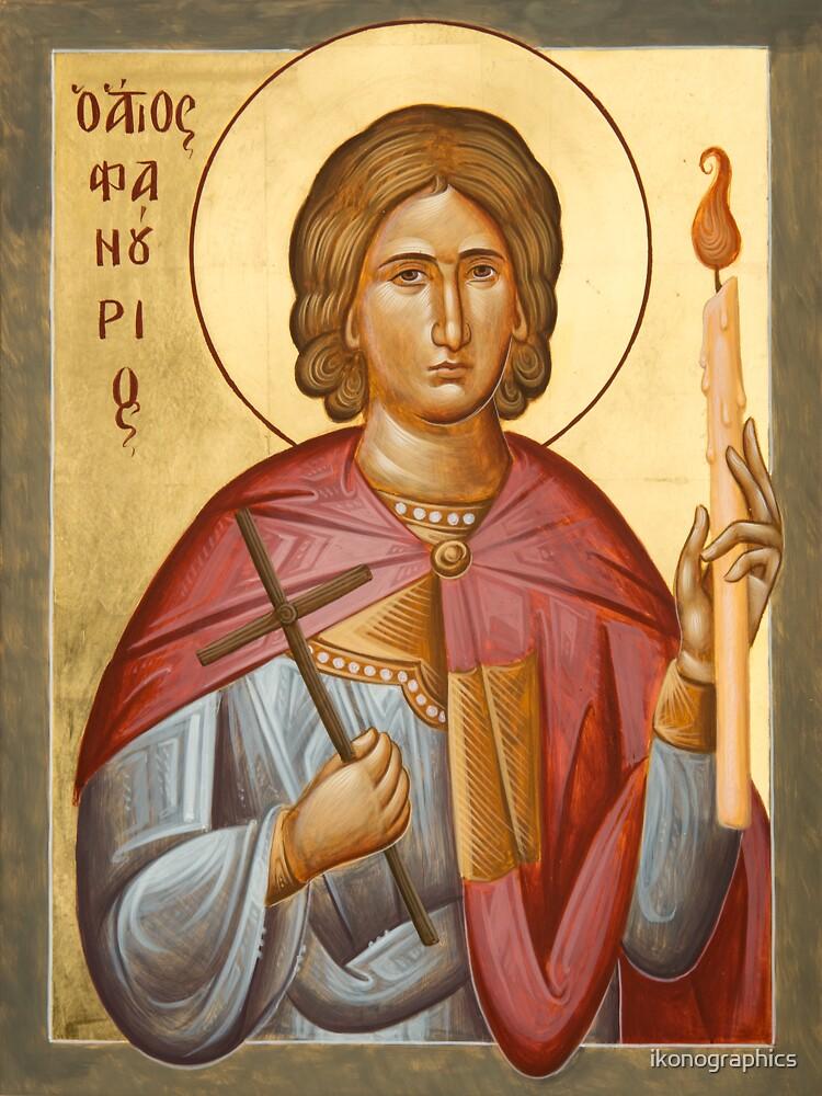 St Phanourios by ikonographics