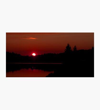Sunset on Algonquin Park Photographic Print