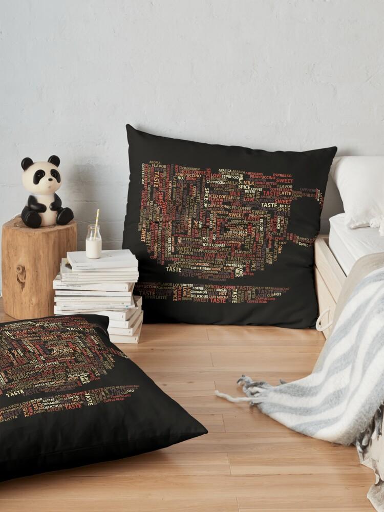 Alternate view of Coffee Addict Floor Pillow