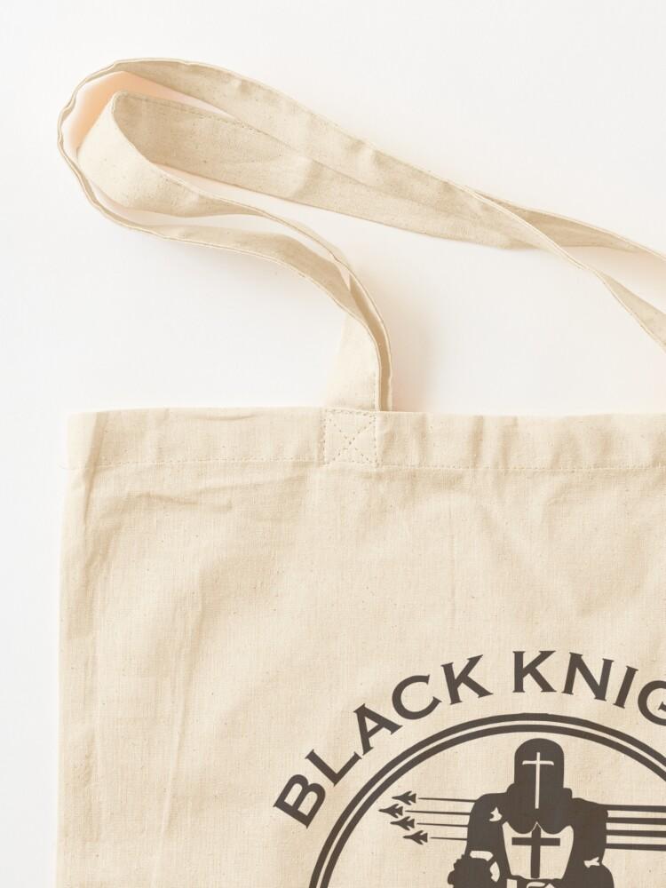 Alternate view of Model 44 - Black Knights Tote Bag