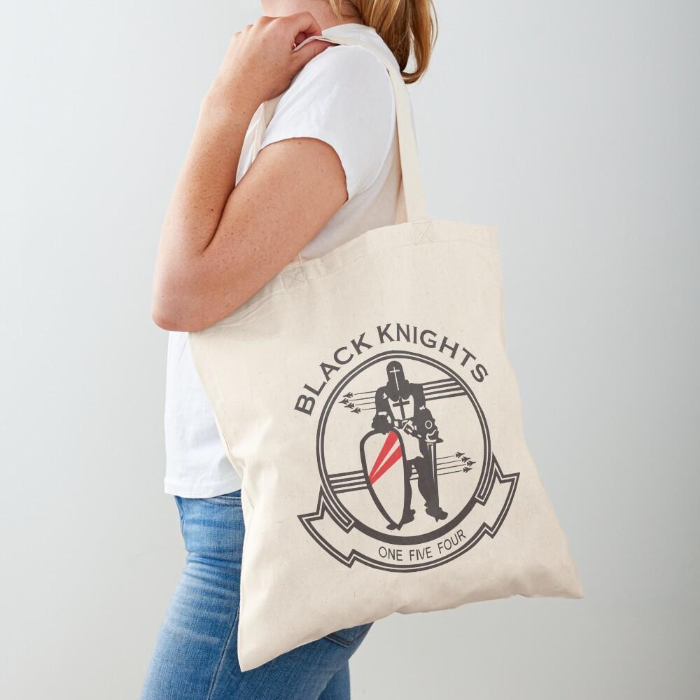 Model 44 - Black Knights Tote Bag