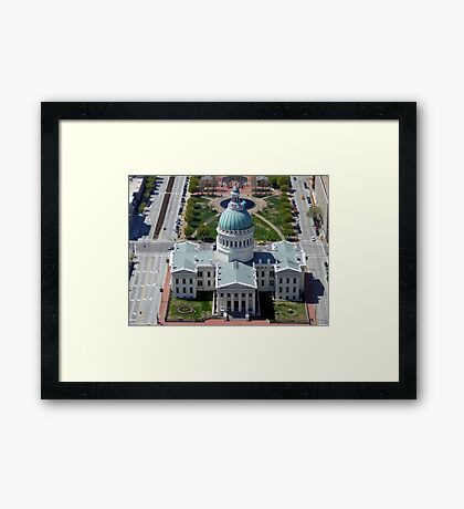 St Louis Capital Building Framed Print