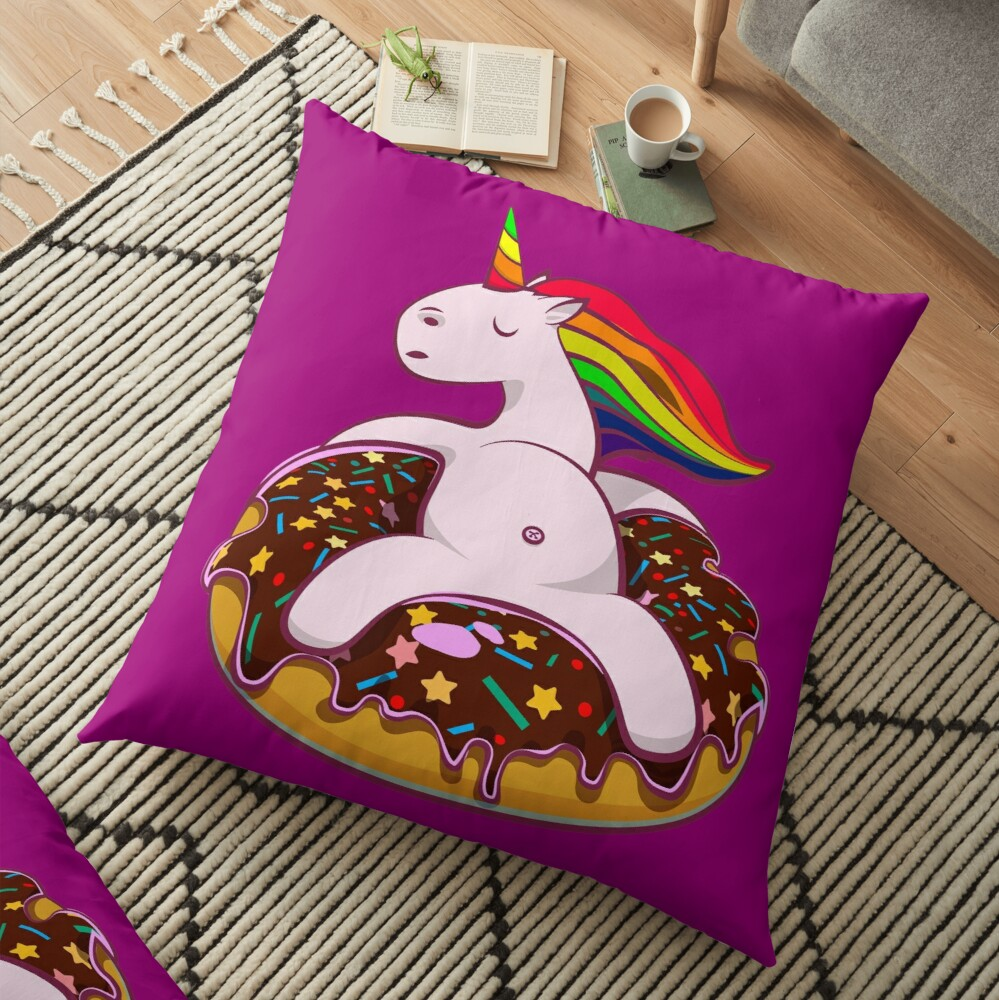 Urban Unicorn Floor Pillow
