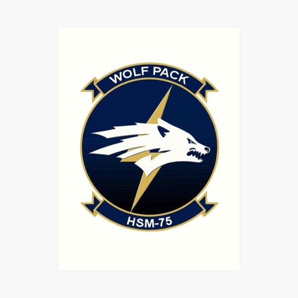 Model 86 - Wolfpack Art Print