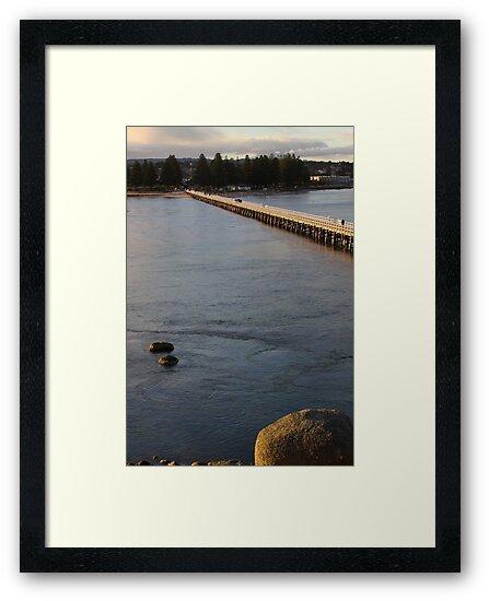 Granite Island Bridge Pt.4 by Stuart Daddow Photography
