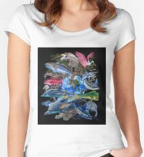 Save our Seas Women's Fitted Scoop T-Shirt