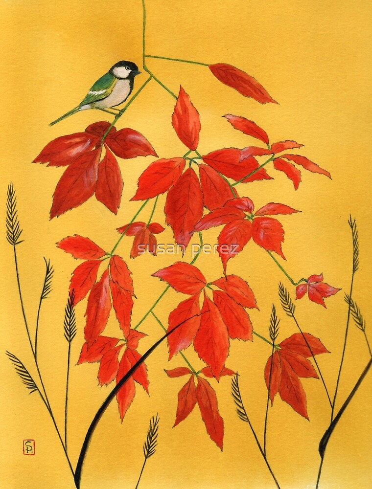 Geschenk des Herbstes von susanPerez