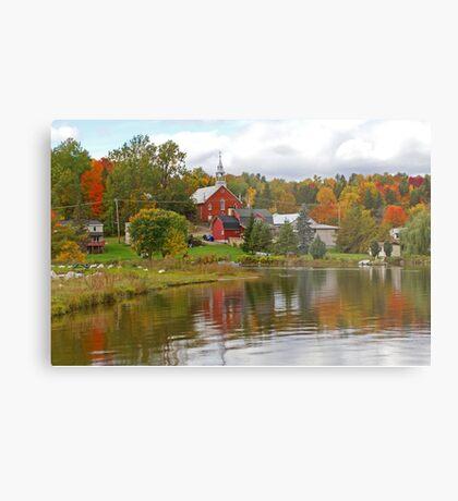 Autumn in Mont Ste-Marie, Quebec Metal Print