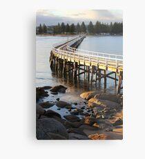 Granite Island Bridge Pt.6 Metal Print