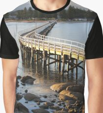 Granite Island Bridge Pt.6 Graphic T-Shirt