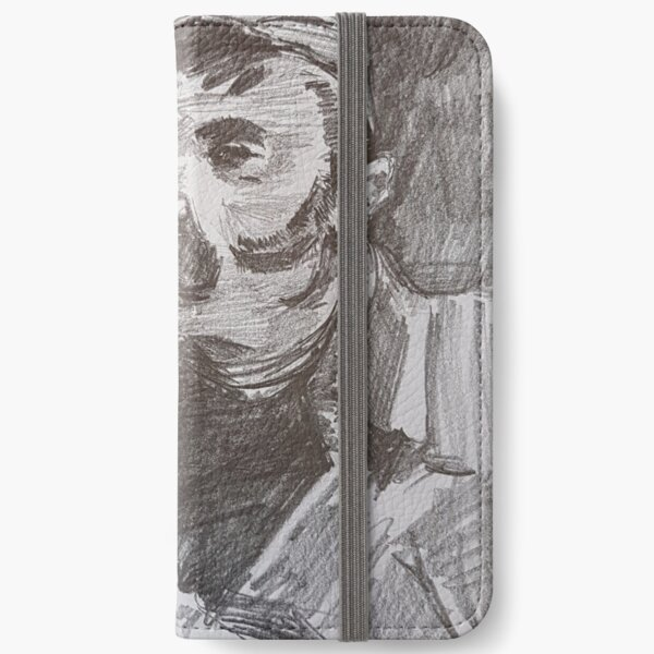 cool print for men iPhone Wallet