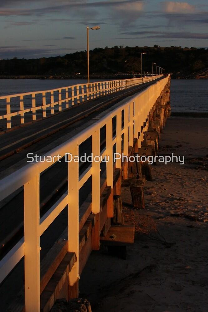 Granite Island Bridge Pt.9 by Stuart Daddow Photography