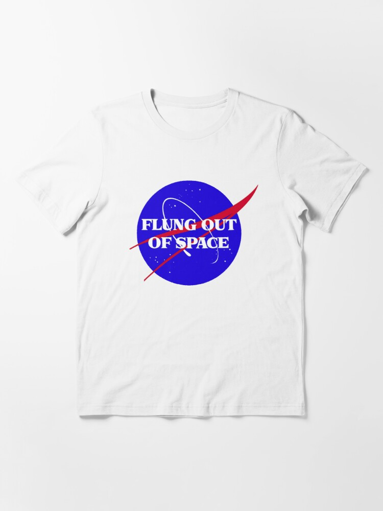 Alternate view of flung out of space Essential T-Shirt