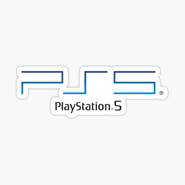 Logo Playstation 5 - Haute qualité Sticker