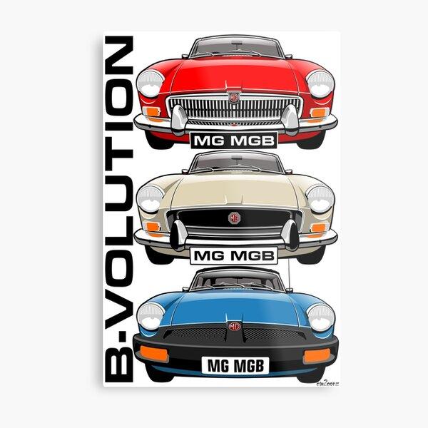 MG MGB evolution Metal Print