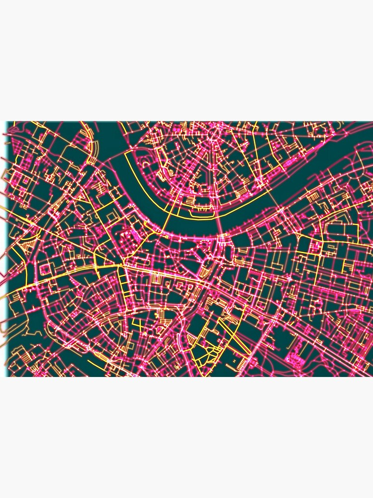 Neon Roads of Dresden by jvdkwast